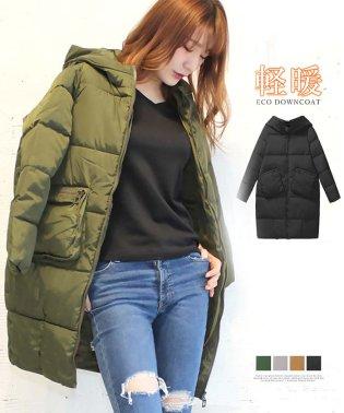 ダウンコート レディース ロングコート フード付きコート 軽い 暖かい コート