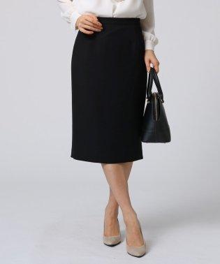◆【洗える】[L]ドレープツイルタイトスカート