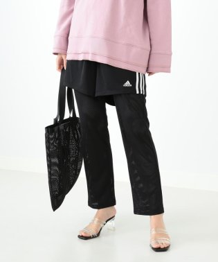 adidas for Ray BEAMS / メッシュ レイヤード パンツ