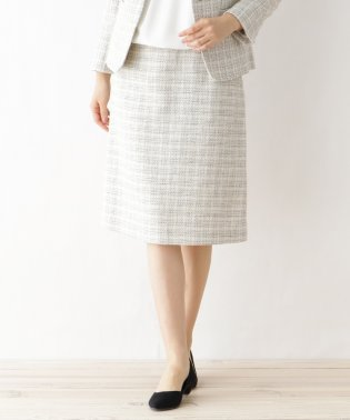 メランジツィード スカート