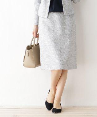 綾織りツィード スカート