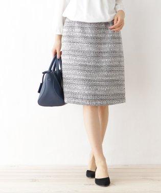 ミックスツィード スカート