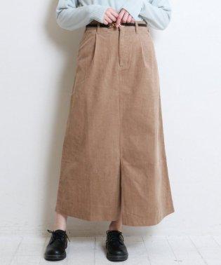 コーデュロイマキシスカート
