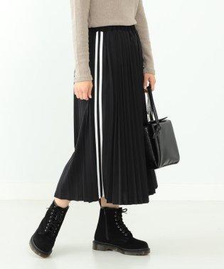 Ray BEAMS / サイドライン プリーツ スカート