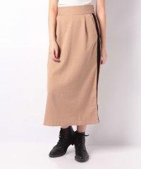 ツイルベロアラインスカート