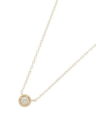 ダイヤモンド フチミル ネックレス