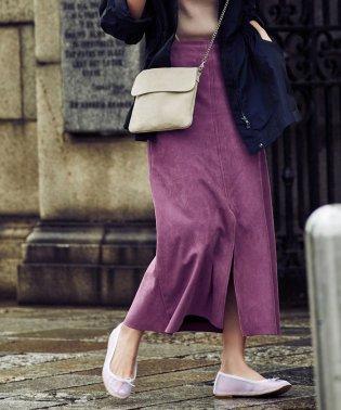 Demi-Luxe BEAMS / エコスエードスカート