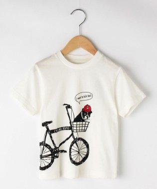 【100cm~150cm】自転車DOGTシャツ