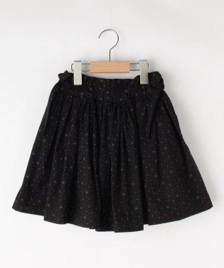 【100cm~140cm/ポケット付き】インパンツ付き柄スカート