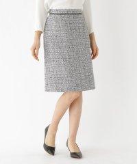 ツイードAラインスカート