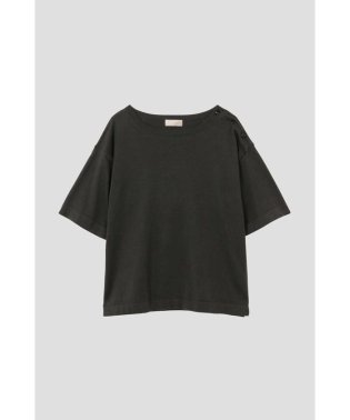 COTTON BOAT NECK T