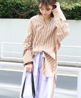 《予約》40タイプライターチュニックシャツ◆