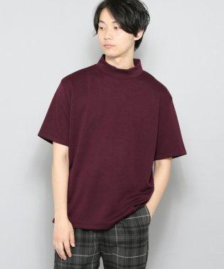 【SENSEOFPLACE】ポンチモックネックT(5分袖)