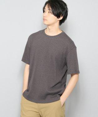 【SENSEOFPLACE】ワイドリブT(5分袖)