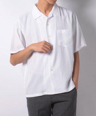 【WAREHOUSE】リヨセルオープンカラーシャツ3