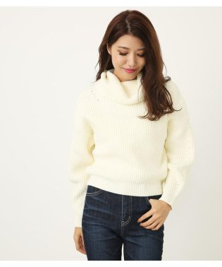 BackレースUP Knit TOP
