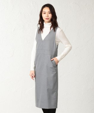 【ウォッシャブル】TRツイルジャンパースカート