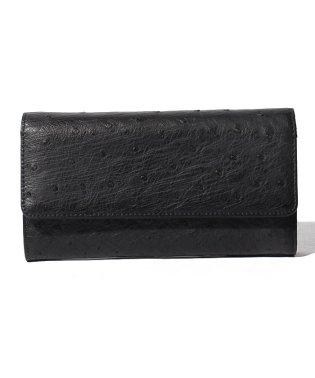 【ostrich】オーストリッチ ハーフポイント かぶせ長財布