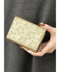 星型押しミニ財布