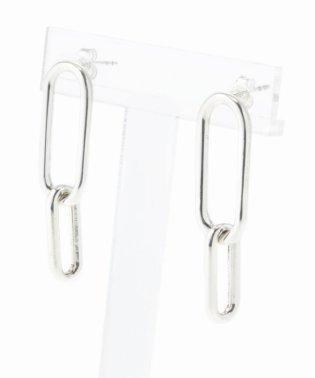 【PHILIPPE AUDIBERT/フィリップ・オーディベール】earring double oval:ピアス