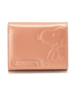 PEANUTS SNOOPY/スヌーピー/レザー 二つ折り財布