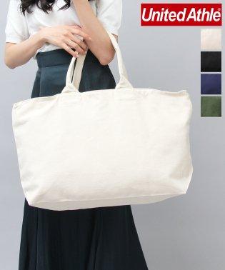 【UnitedAthle】ヘヴィーキャンバスジップトートバッグ/大容量 トートバッグ/ボストンバッグ