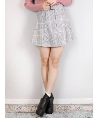 【sw】ベルト付ミニスカート
