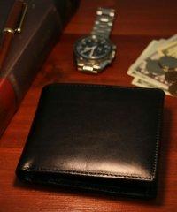 【至極の逸品】【magaseek/d fashion限定】【Harvie and Hudson】【WEB限定】イタリアンレザー2折り財布