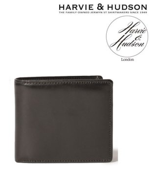 【Harvie and Hudson】ウェブ限定イタリアンレザー2折り財布