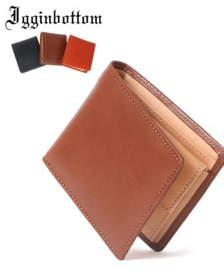 【IGGIN BOTTOM】ウェブ限定栃木レザー2折り財布