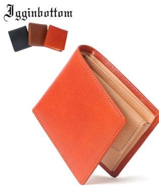 【magaseek/d fashion限定】【IGGIN BOTTOM】【WEB限定】栃木レザー2折り財布