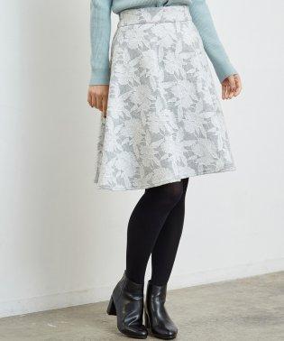 ニードルパンチフレアスカート