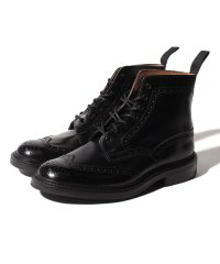 【Trickers】STOW BLACK CALF DAINITE SOLE 5 FIT