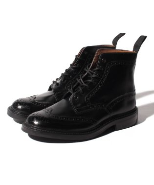 【Trickers】STOW BLACK CALF DAINITE SOLE 5 FIT