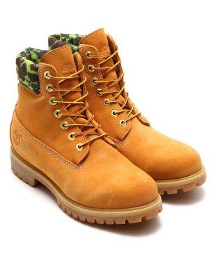 "Timberland | atmos 6"" PREMIUM WATERPROOF BOOT WHEAT CAMO"