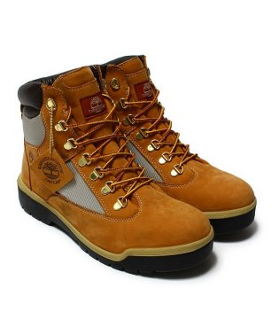 "Timberland Field Boot 6"" Fabric And Leather Waterproof  Wheat"