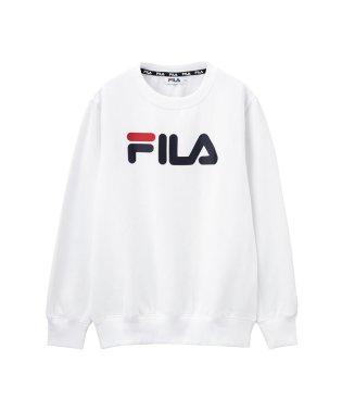 FILA ビッグロゴクルーネックトレーナー FL1591