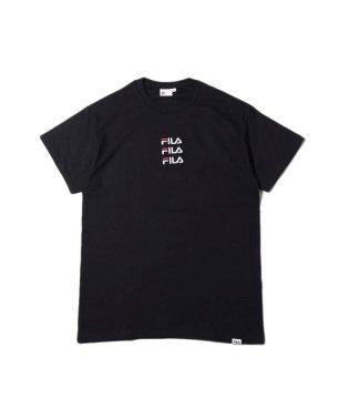 フィラ × アトモス トリプル ロゴ エンブロイダリー ティーシャツ