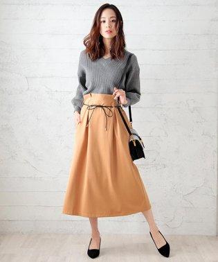ハイウエストリングスカート or パンツ