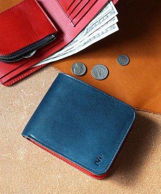 二つ折り財布 レディース 本革 財布 ZARIO-GRANDEE- 栃木レザー 短財布 日本製