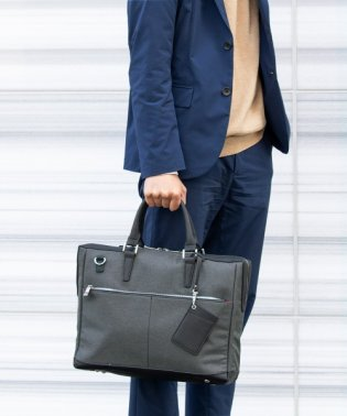 バッグ ビジネスバッグ メンズ A4対応 クッションポケット ビジカジ 通勤 ショルダー付き 2way ブリーフケース