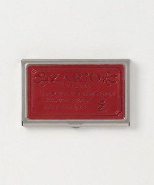 名刺入れ レディース ステンレス 本革 カードケース 栃木レザー 日本製 ZARIO-GRANDEE-