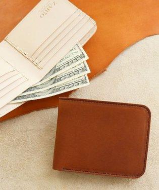折り財布 レディース 本革 日本製 イタリアンレザー 二つ折り エルバマットレザー 二つ折り財布 ZARIO-GRANDEE-