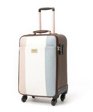 キャリーバッグ レディース 4輪 TSAロック キャリーケース 大容量 旅行 出張 トリコロール スーツケース