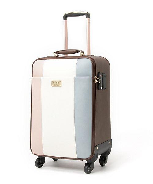 (Clelia/クレリア)キャリーバッグ レディース 4輪 TSAロック キャリーケース 大容量 旅行 出張 トリコロール スーツケース/レディース その他系1