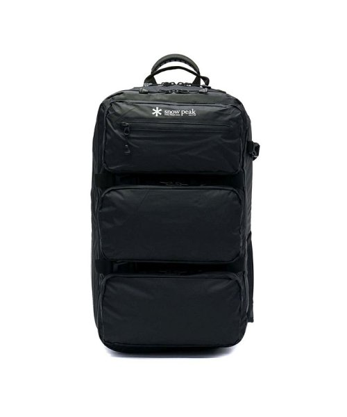 a045c132acb3 スノーピーク snow peak リュック Active Backpack Type04 ONE Black ...