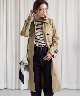 ★【FUDGE 4月号掲載】Aラインステンカラーコート
