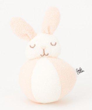 【BABY雑貨】スマイルコットンパイル ラトルボール