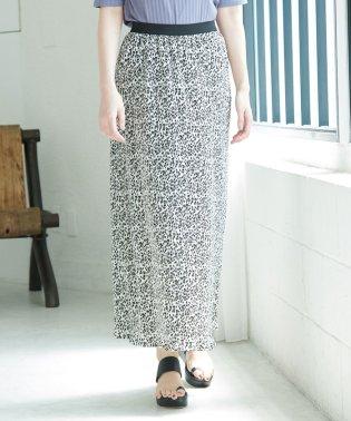 【WEB限定】プリーツフラワースカート