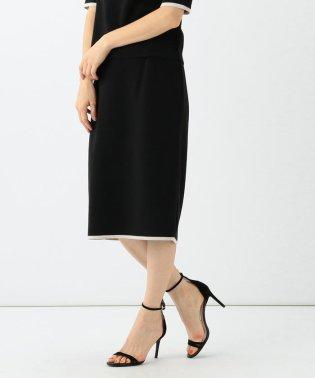 Demi-Luxe BEAMS / ミラノリブ コンビ スカート 19FO
